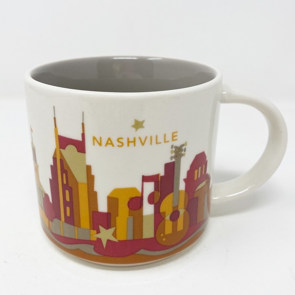 STARBUCKS You Are Here Collection ~ Nashville